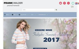 Frank Walder Webseiten Screenshot