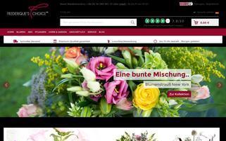 Frederique's Choice Webseiten Screenshot