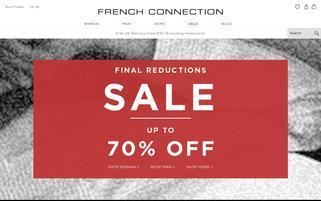 French Connection Webseiten Screenshot