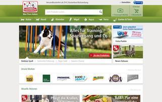 Fressnapf Webseiten Screenshot