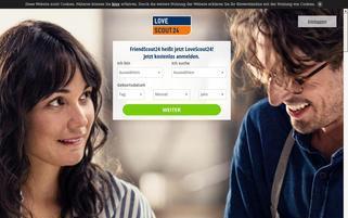 Friendscout24 CH Webseiten Screenshot