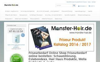 friseurfactory.de Webseiten Screenshot