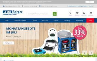 Fritz Berger Webseiten Screenshot