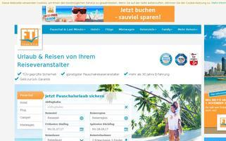 FTI Webseiten Screenshot