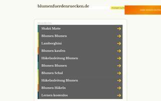 FuerDenRuecken.de Webseiten Screenshot