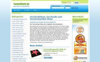 FunAndSmile Webseiten Screenshot