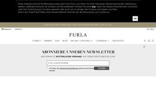Furla Webseiten Screenshot