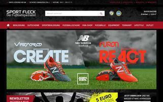 Fussballoutlet24 Webseiten Screenshot