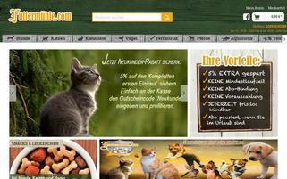 Futtermühle Webseiten Screenshot