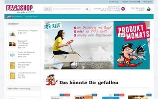 gagashop.de Webseiten Screenshot