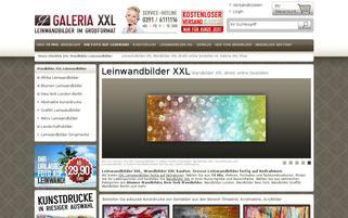 galeria-xxl.de Webseiten Screenshot