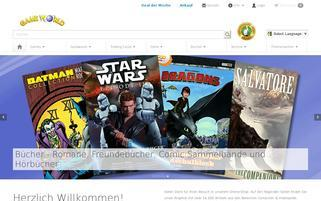 Game World Webseiten Screenshot