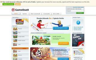 GameDuell Webseiten Screenshot
