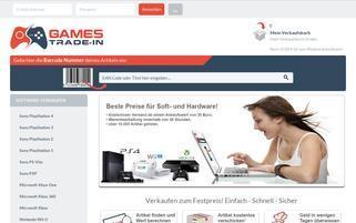 games-trade-in.de Webseiten Screenshot