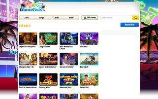 GameTwist Webseiten Screenshot