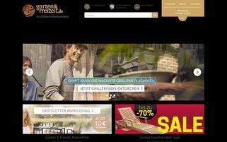 Garten & Freizeit Webseiten Screenshot