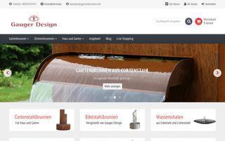gartenbrunnen.net Webseiten Screenshot