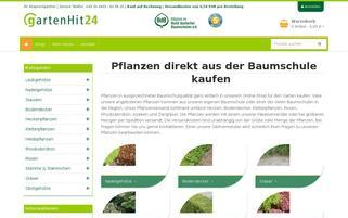 Gartenhit24 Webseiten Screenshot