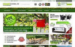 Gartenmoebel Webseiten Screenshot