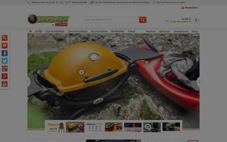 Gartenparty.de Webseiten Screenshot