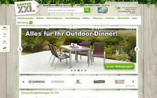 GartenXXL AT Webseiten Screenshot