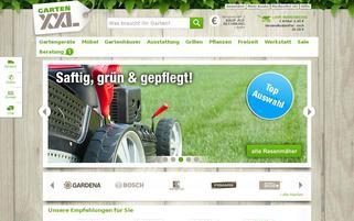 GartenXXL Webseiten Screenshot