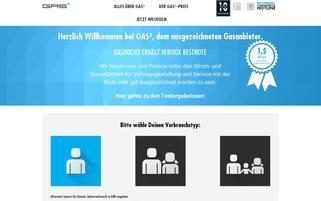gashoch3 Webseiten Screenshot