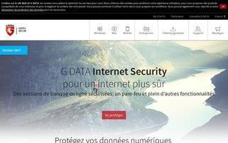 gdata.fr Webseiten Screenshot