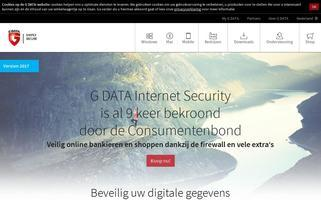 gdata.nl Webseiten Screenshot