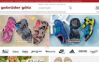 Gebrüder Götz Webseiten Screenshot