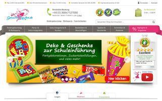 Geburtstagsfee Webseiten Screenshot