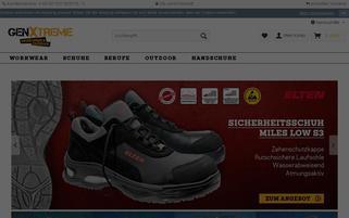 GenXtreme AT Webseiten Screenshot