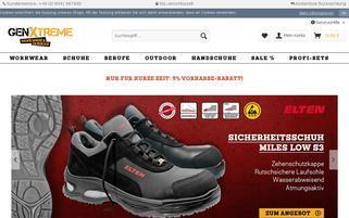 GenXtreme Webseiten Screenshot