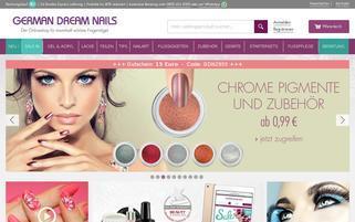 German Dream Nails Webseiten Screenshot