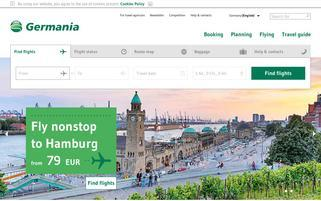 germania Webseiten Screenshot