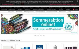 Gerstaecker Webseiten Screenshot