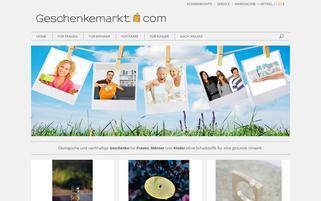 Geschenkemarkt Webseiten Screenshot