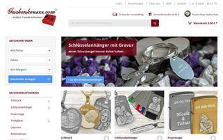 GeschenkeMaxx Webseiten Screenshot