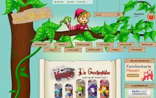 Geschenkewunderland Webseiten Screenshot