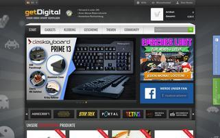getDigital Webseiten Screenshot
