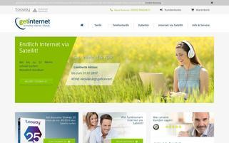 getinternet.de Webseiten Screenshot