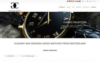 giacomocortes.com Webseiten Screenshot