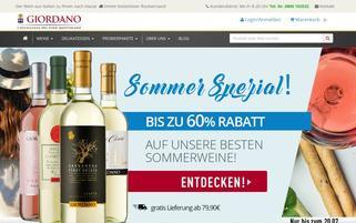 giordano AT Webseiten Screenshot