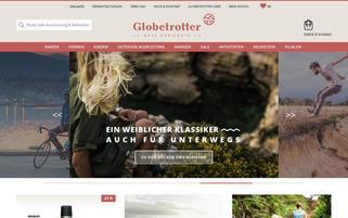 Globetrotter Webseiten Screenshot