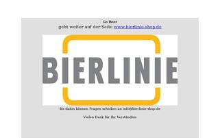 Go-beer Webseiten Screenshot