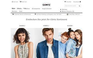 Görtz Webseiten Screenshot