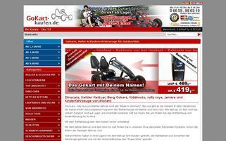 GoKart-kaufen Webseiten Screenshot