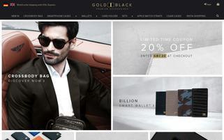 goldblack.de Webseiten Screenshot