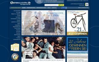 Golfers Outfit Webseiten Screenshot