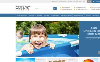 Gonser Webseiten Screenshot